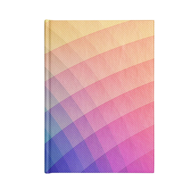 Spectrum Bomb! Fruity Fresh (HDR Rainbow Colorful Experimental Pattern) Accessories Notebook by Badbugs's Artist Shop