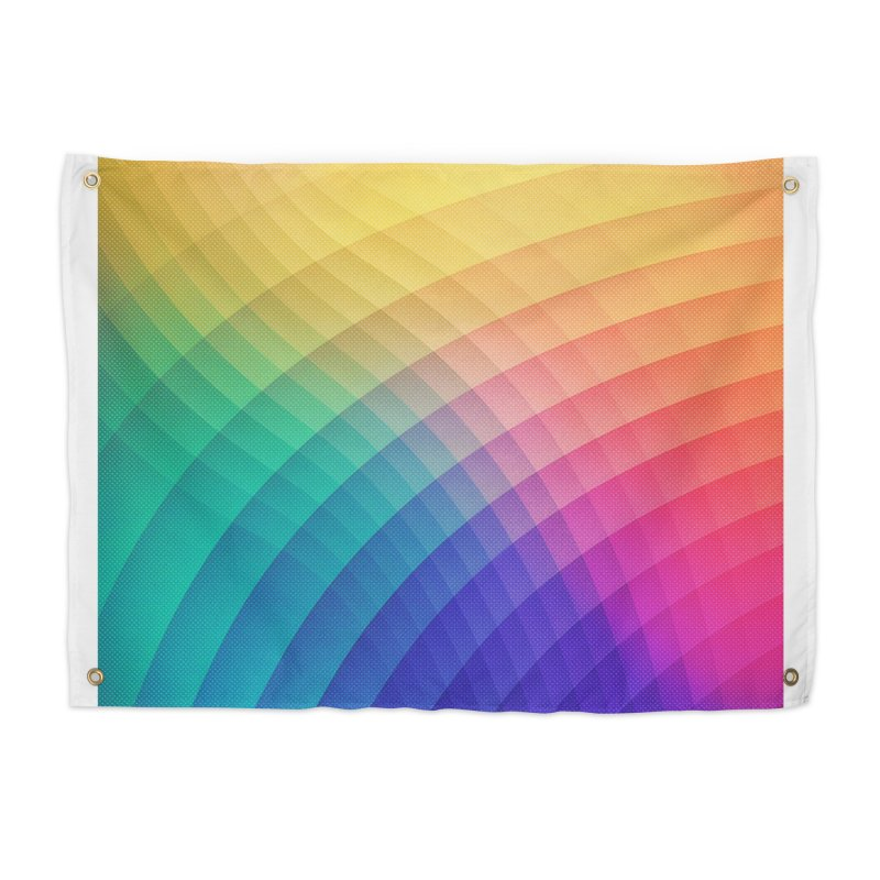 Spectrum Bomb! Fruity Fresh (HDR Rainbow Colorful Experimental Pattern) Home Tapestry by Badbugs's Artist Shop