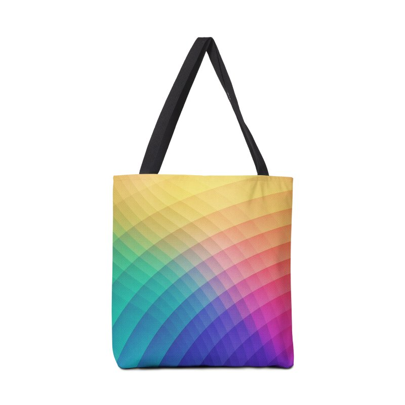 Spectrum Bomb! Fruity Fresh (HDR Rainbow Colorful Experimental Pattern) Accessories Bag by Badbugs's Artist Shop