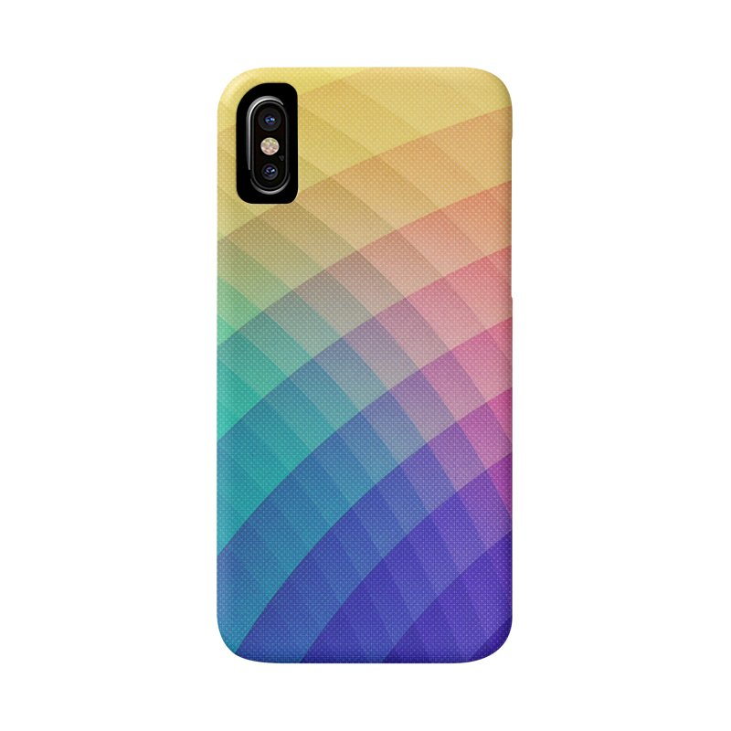 Spectrum Bomb! Fruity Fresh (HDR Rainbow Colorful Experimental Pattern) Accessories Phone Case by Badbugs's Artist Shop