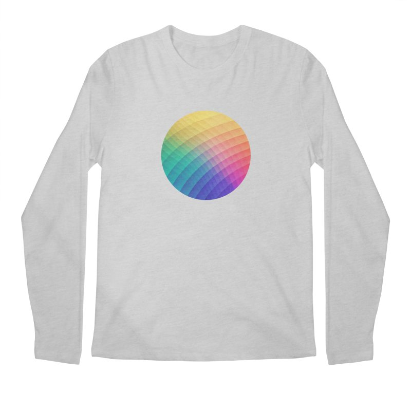 Spectrum Bomb! Fruity Fresh (HDR Rainbow Colorful Experimental Pattern) Men's Longsleeve T-Shirt by Badbugs's Artist Shop