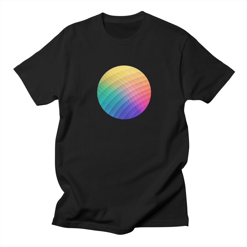 Spectrum Bomb! Fruity Fresh (HDR Rainbow Colorful Experimental Pattern) Women's Unisex T-Shirt by Badbugs's Artist Shop