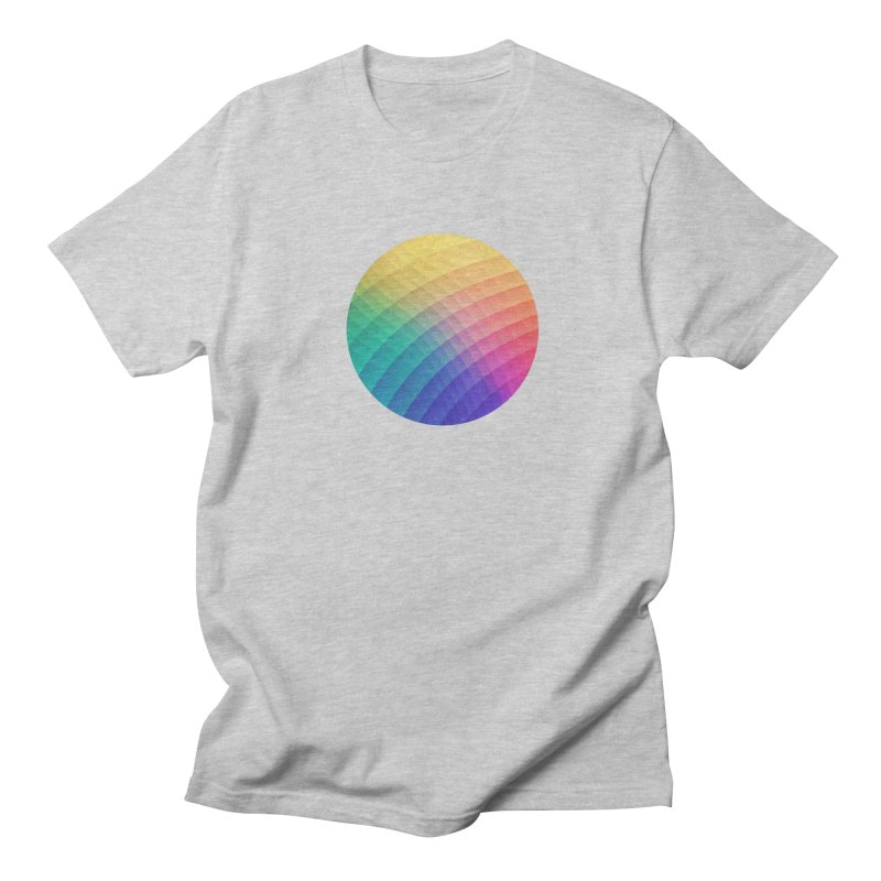 Spectrum Bomb! Fruity Fresh (HDR Rainbow Colorful Experimental Pattern) Men's T-shirt by Badbugs's Artist Shop