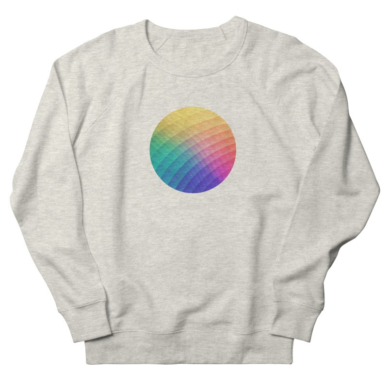 Spectrum Bomb! Fruity Fresh (HDR Rainbow Colorful Experimental Pattern) Women's Sweatshirt by Badbugs's Artist Shop