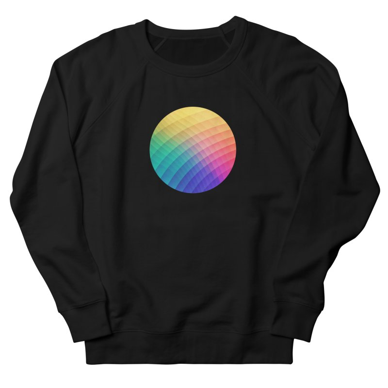 Spectrum Bomb! Fruity Fresh (HDR Rainbow Colorful Experimental Pattern) Men's Sweatshirt by Badbugs's Artist Shop