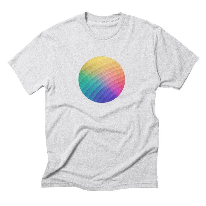 Spectrum Bomb! Fruity Fresh (HDR Rainbow Colorful Experimental Pattern) Men's Triblend T-Shirt by Badbugs's Artist Shop