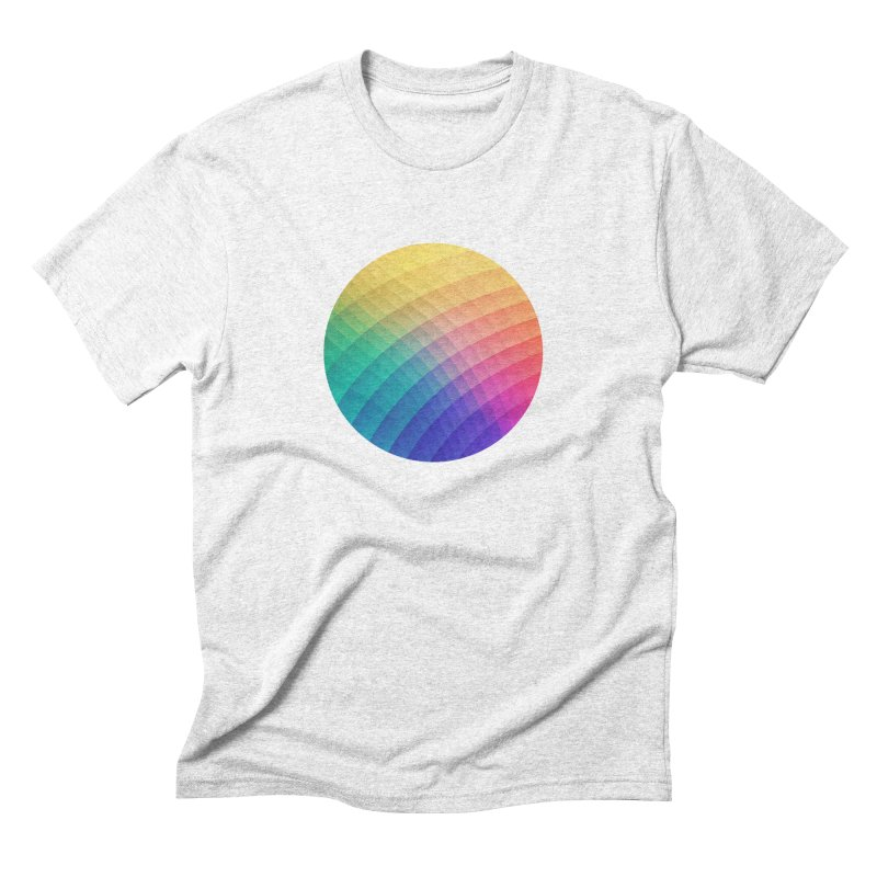 Spectrum Bomb! Fruity Fresh (HDR Rainbow Colorful Experimental Pattern) Men's Triblend T-shirt by Badbugs's Artist Shop