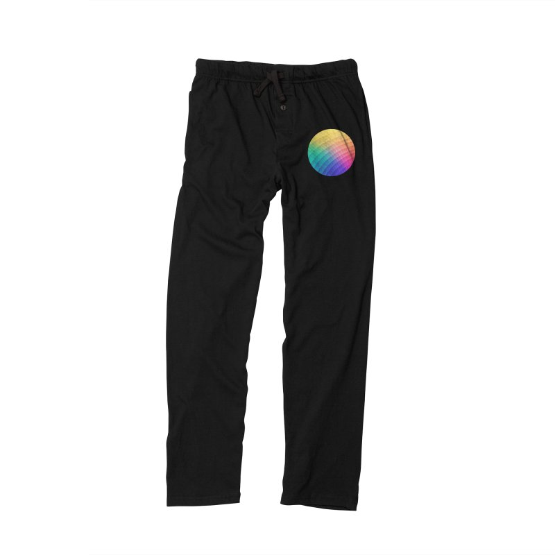 Spectrum Bomb! Fruity Fresh (HDR Rainbow Colorful Experimental Pattern) Men's Lounge Pants by Badbugs's Artist Shop