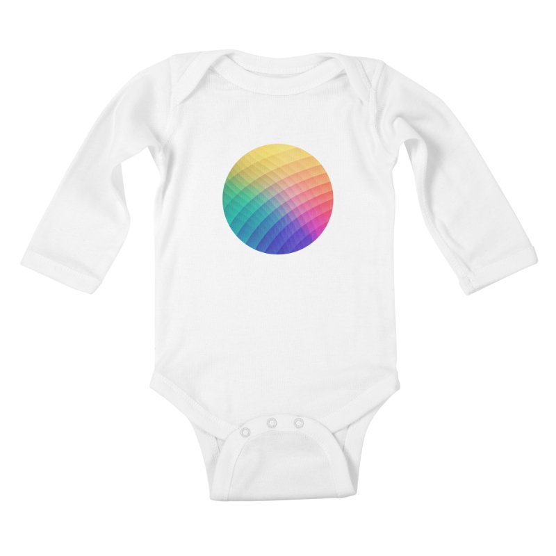 Spectrum Bomb! Fruity Fresh (HDR Rainbow Colorful Experimental Pattern) Kids  by Badbugs's Artist Shop