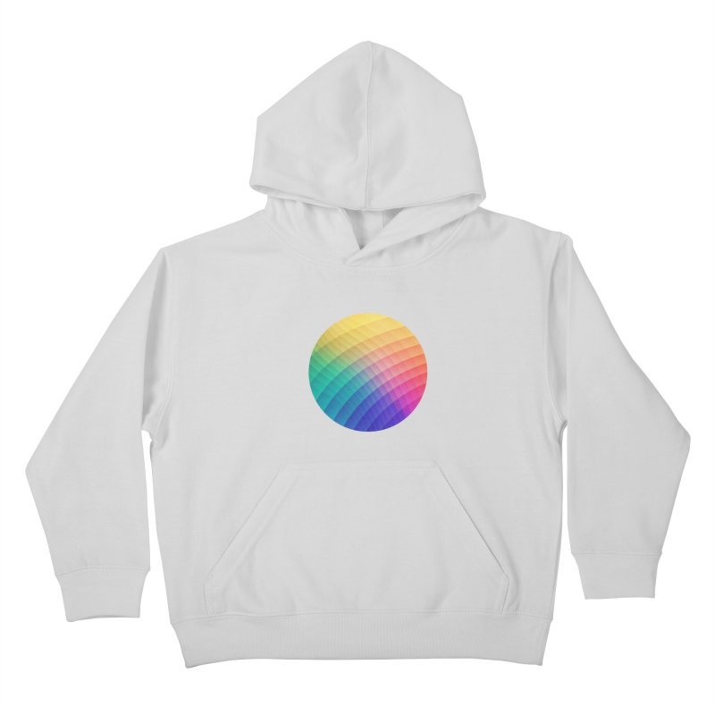 Spectrum Bomb! Fruity Fresh (HDR Rainbow Colorful Experimental Pattern) Kids Pullover Hoody by Badbugs's Artist Shop
