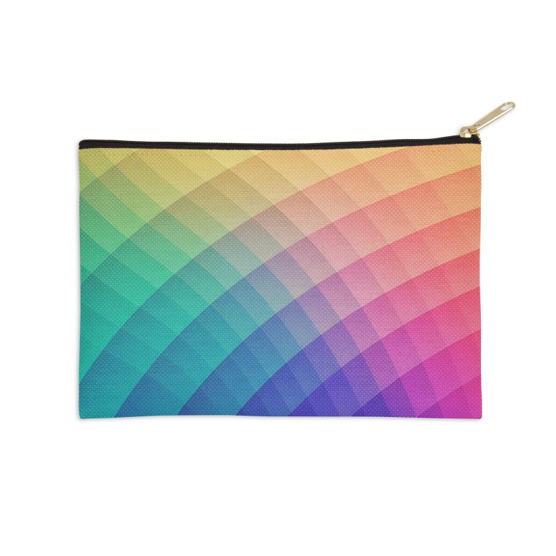 Spectrum Bomb! Fruity Fresh (HDR Rainbow Colorful Experimental Pattern) Accessories Zip Pouch by Badbugs's Artist Shop
