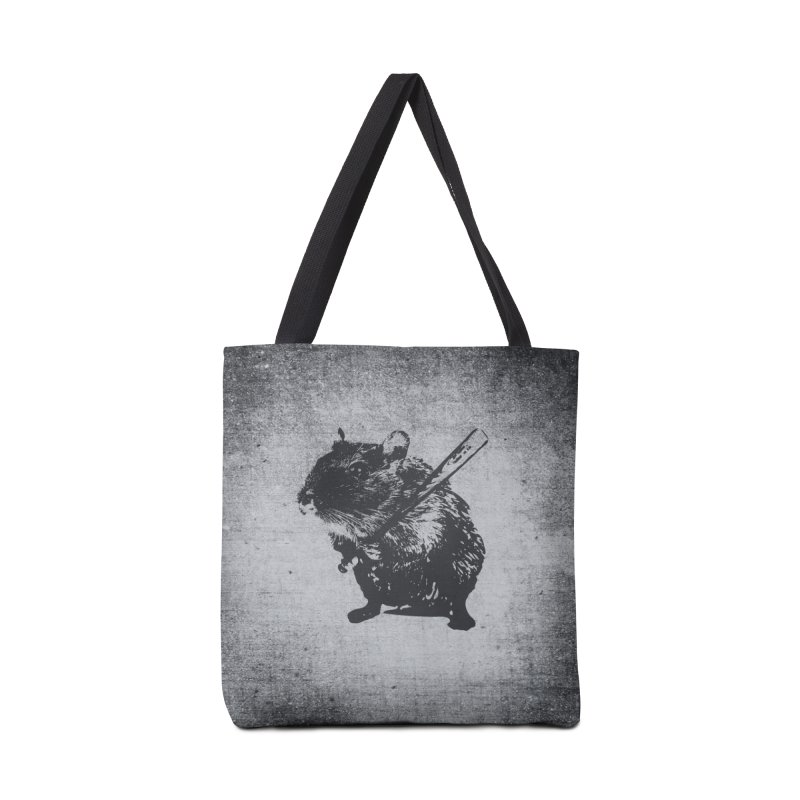 Angry Street Art Mouse Accessories Bag by Badbugs's Artist Shop