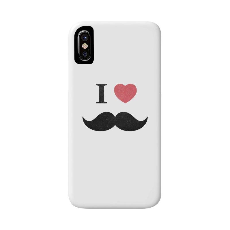 I love mustache! Accessories Phone Case by Badbugs's Artist Shop