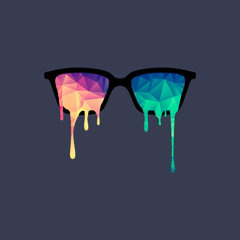 Psychedelic Nerd Glasses   by Badbugs's Artist Shop