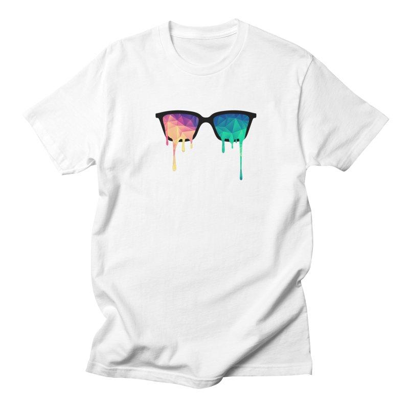 Psychedelic Nerd Glasses Women's Unisex T-Shirt by Badbugs's Artist Shop