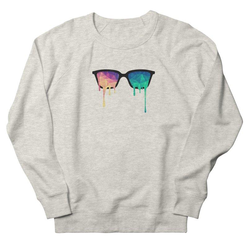Psychedelic Nerd Glasses Women's Sweatshirt by Badbugs's Artist Shop