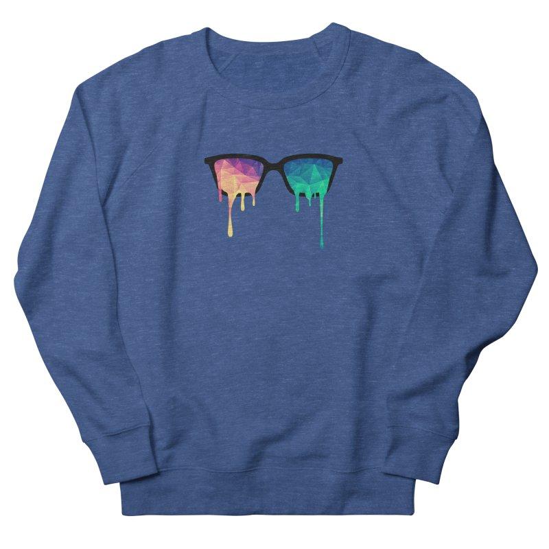 Psychedelic Nerd Glasses Men's Sweatshirt by Badbugs's Artist Shop