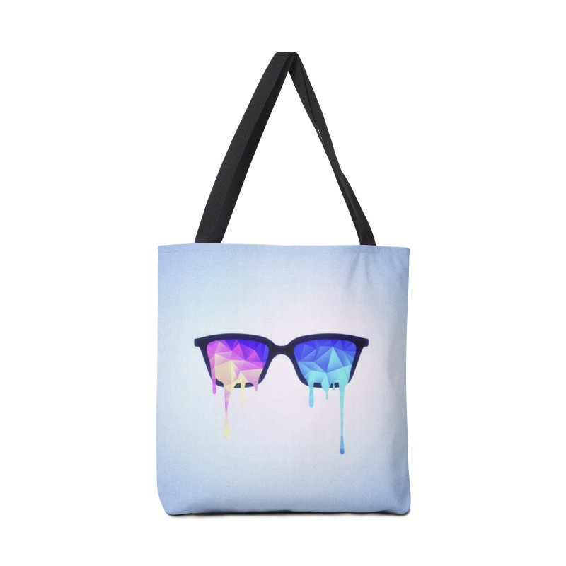 Psychedelic Nerd Glasses Accessories Bag by Badbugs's Artist Shop