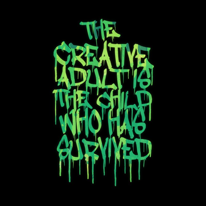 Graffiti Tag Typography! The Creative Adult by Badbugs's Artist Shop