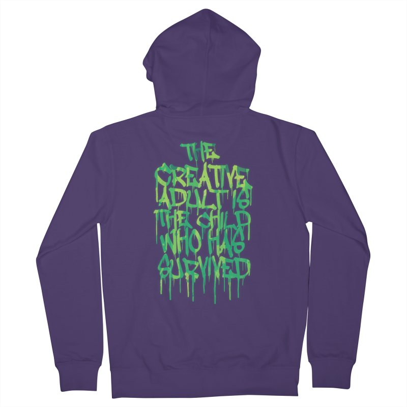 The Creative Adult Women's Zip-Up Hoody by Badbugs's Artist Shop