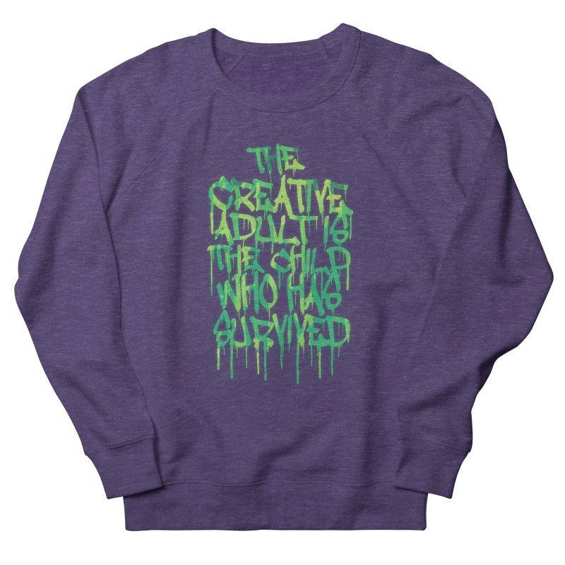Graffiti Tag Typography! The Creative Adult Women's Sweatshirt by Badbugs's Artist Shop
