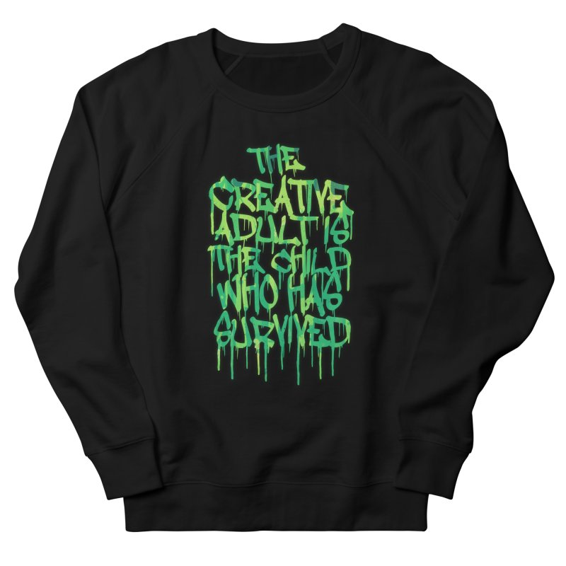 The Creative Adult Men's Sweatshirt by Badbugs's Artist Shop