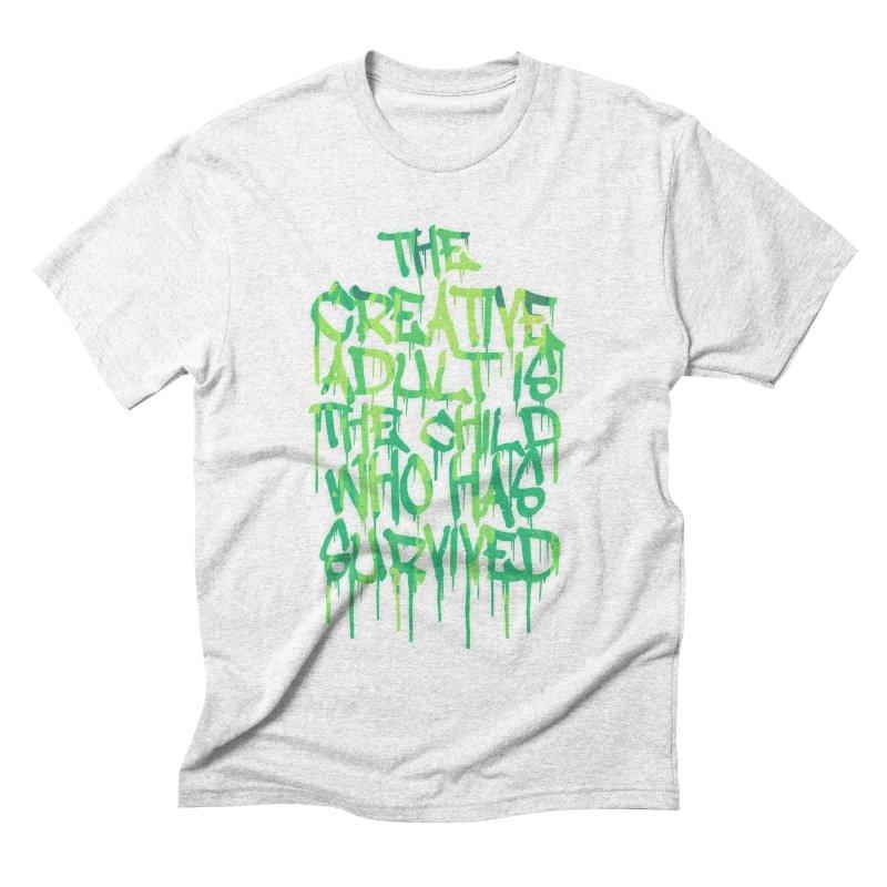 The Creative Adult Men's Triblend T-shirt by Badbugs's Artist Shop