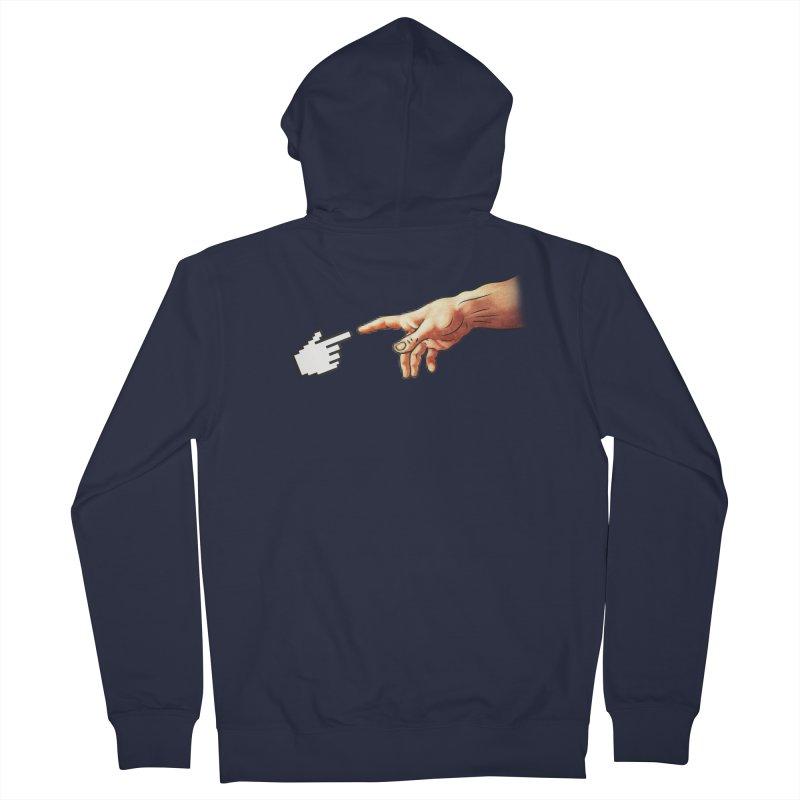 Creation of Adam Parody Women's Zip-Up Hoody by Badbugs's Artist Shop