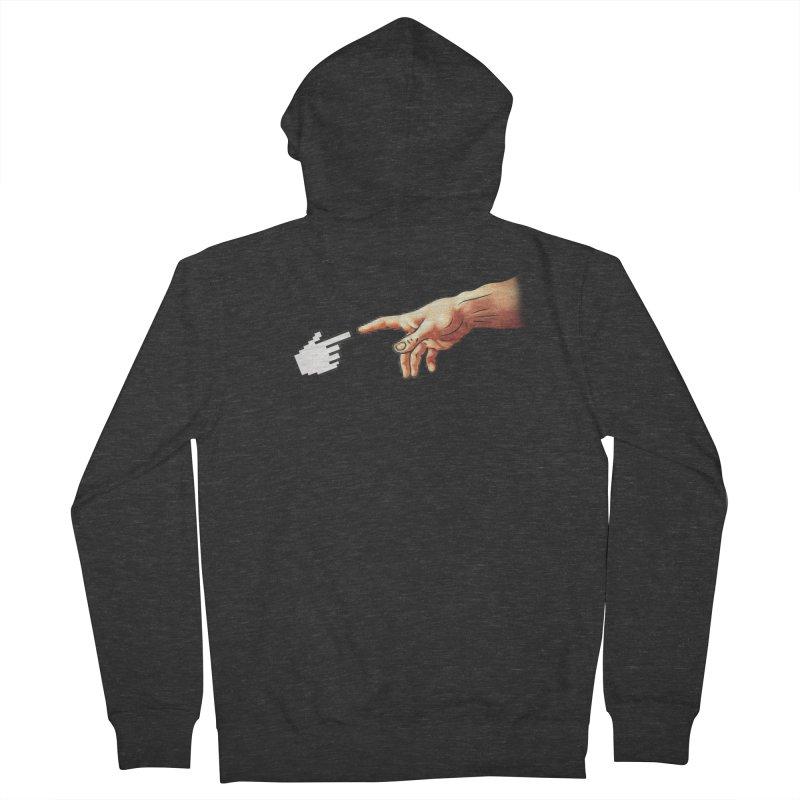 Creation of Adam Parody Men's Zip-Up Hoody by Badbugs's Artist Shop