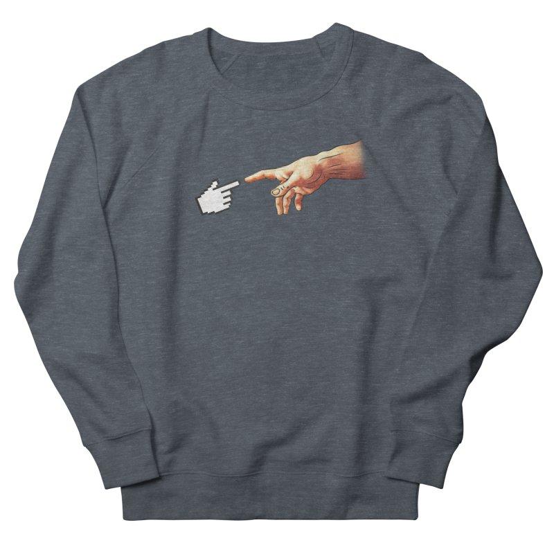 Creation of Adam Parody Men's Sweatshirt by Badbugs's Artist Shop