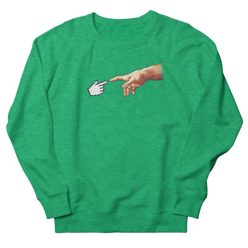 Creation of Adam Parody Men's Sweatshirt by Badbugs's Artist Shop