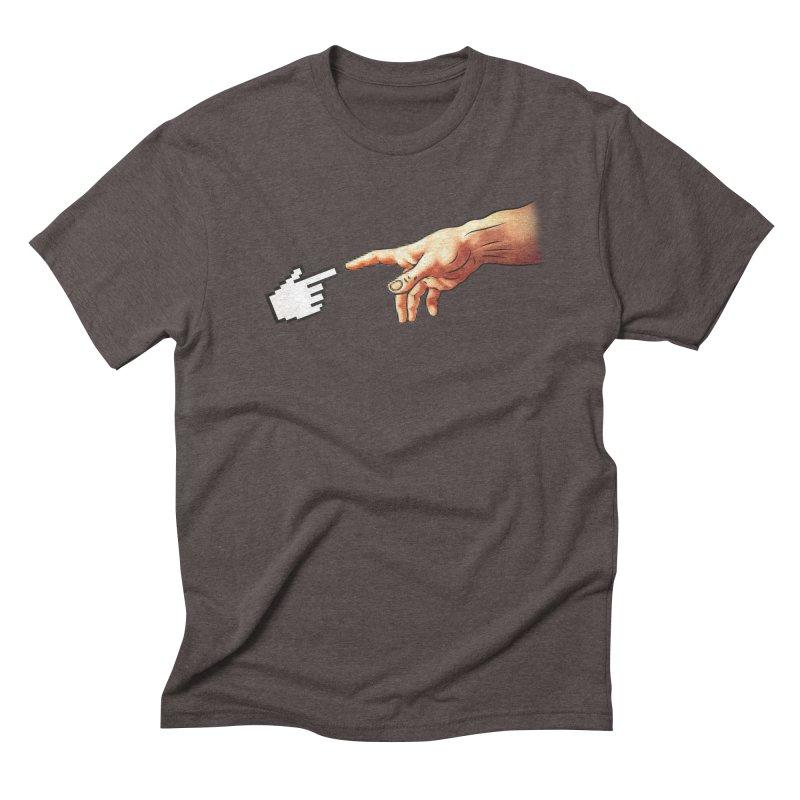 Creation of Adam Parody Men's Triblend T-shirt by Badbugs's Artist Shop