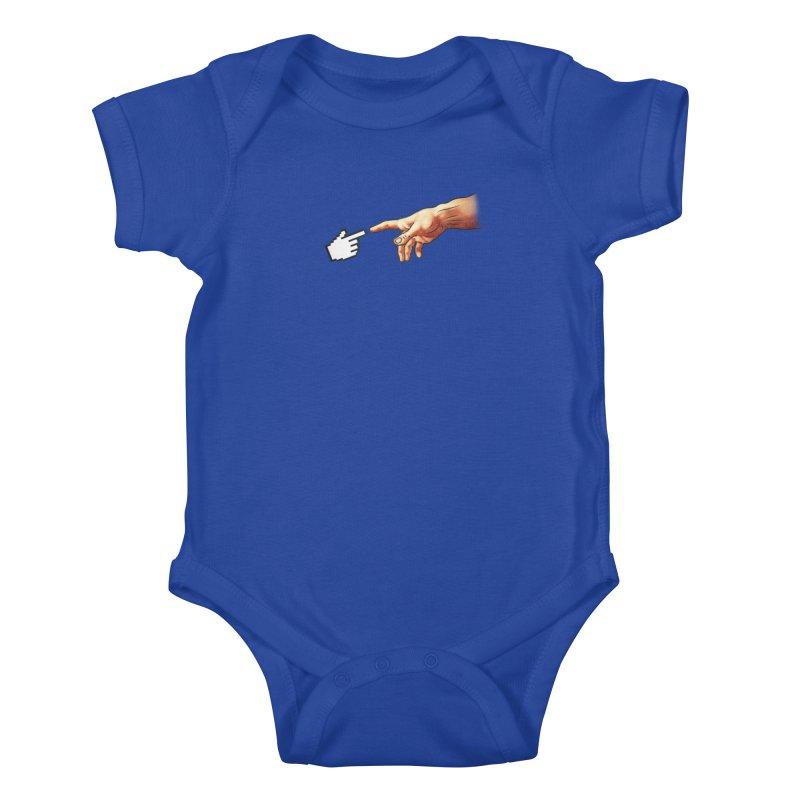 Creation of Adam Parody Kids Baby Bodysuit by Badbugs's Artist Shop