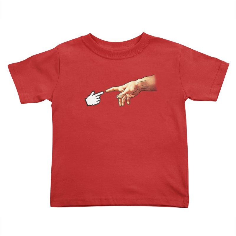 Creation of Adam Parody Kids Toddler T-Shirt by Badbugs's Artist Shop