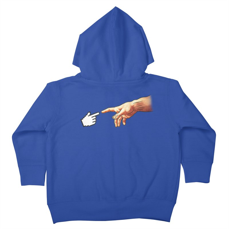 Creation of Adam Parody Kids Toddler Zip-Up Hoody by Badbugs's Artist Shop