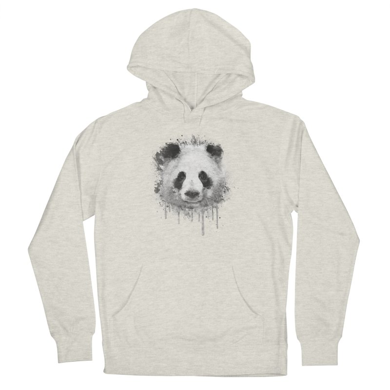 Watercolor Panda Women's Pullover Hoody by Badbugs's Artist Shop