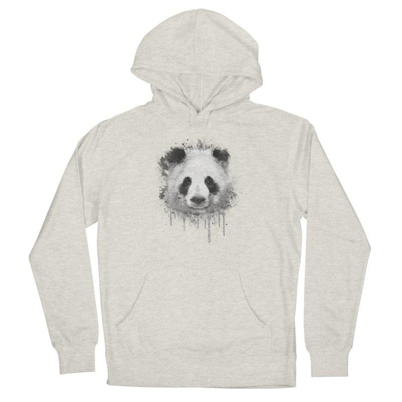 Watercolor Panda Men's Pullover Hoody by Badbugs's Artist Shop