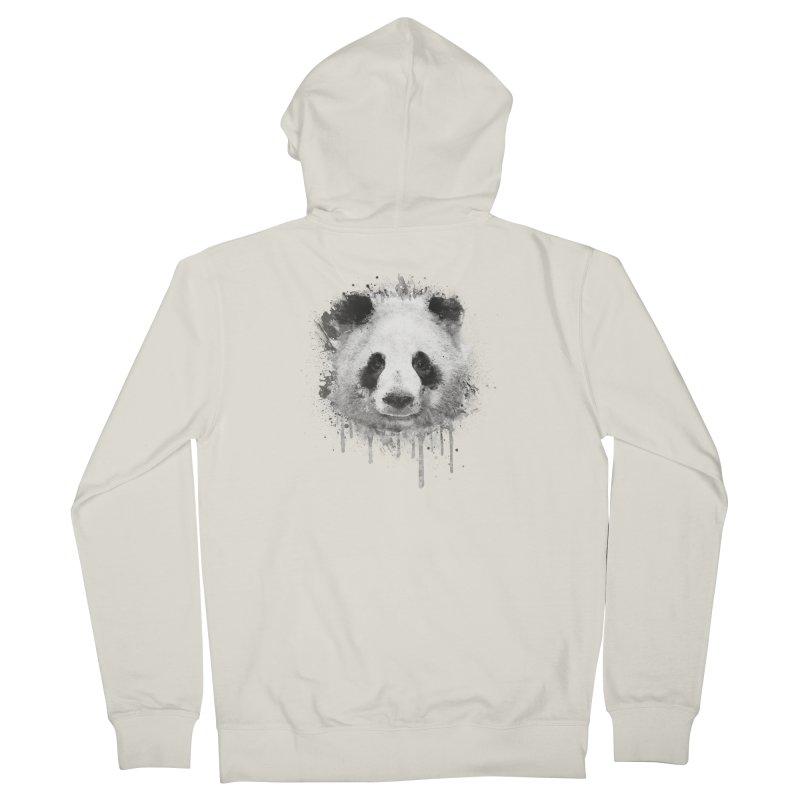 Watercolor Panda Women's Zip-Up Hoody by Badbugs's Artist Shop