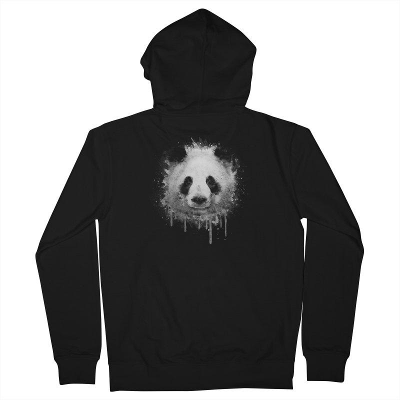 Watercolor Panda Men's Zip-Up Hoody by Badbugs's Artist Shop