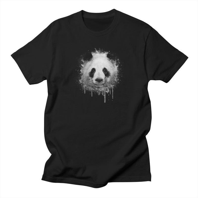 Watercolor Panda Men's T-Shirt by Badbugs's Artist Shop