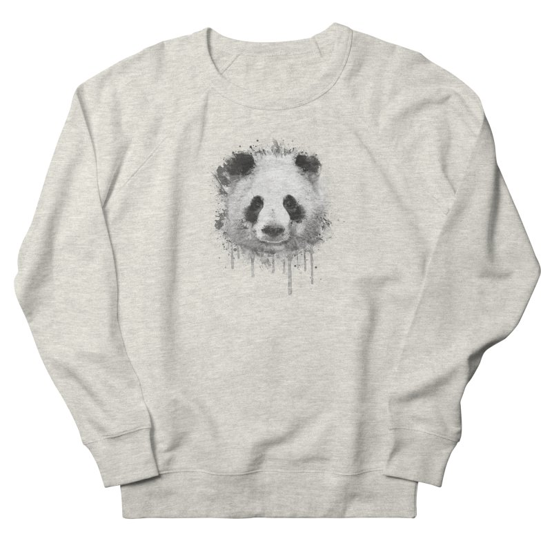 Watercolor Panda Men's Sweatshirt by Badbugs's Artist Shop
