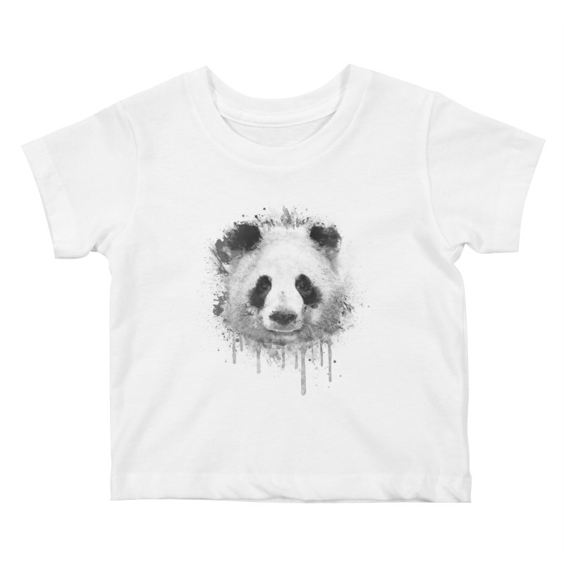 Watercolor Panda Kids Baby T-Shirt by Badbugs's Artist Shop