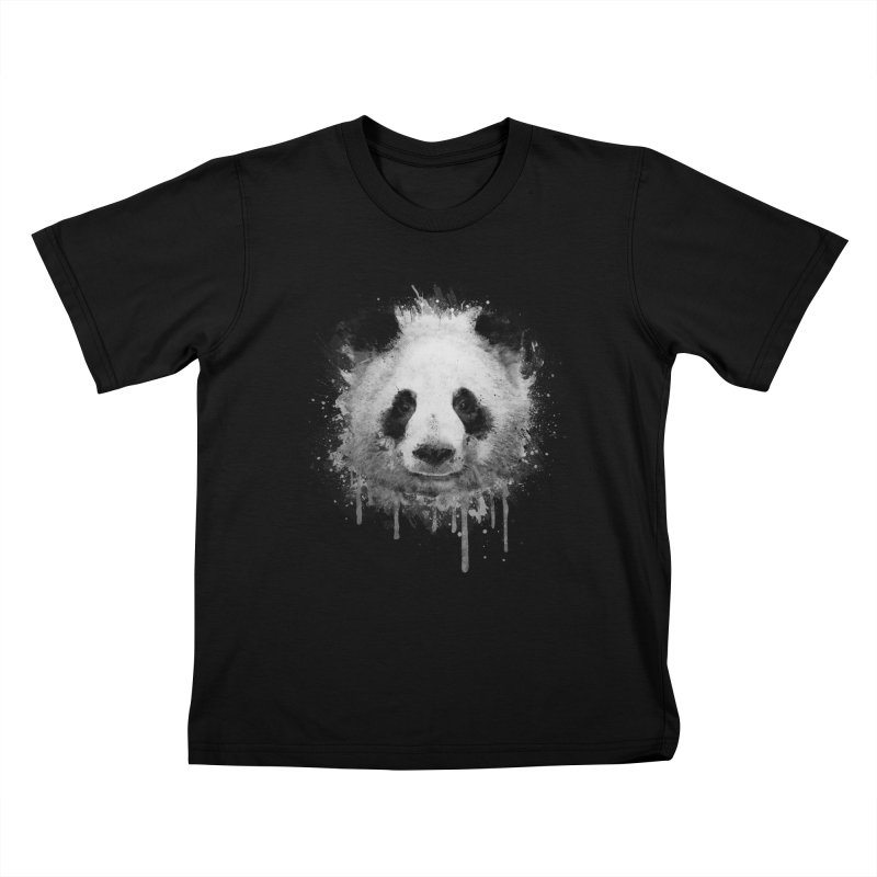 Watercolor Panda Kids T-Shirt by Badbugs's Artist Shop