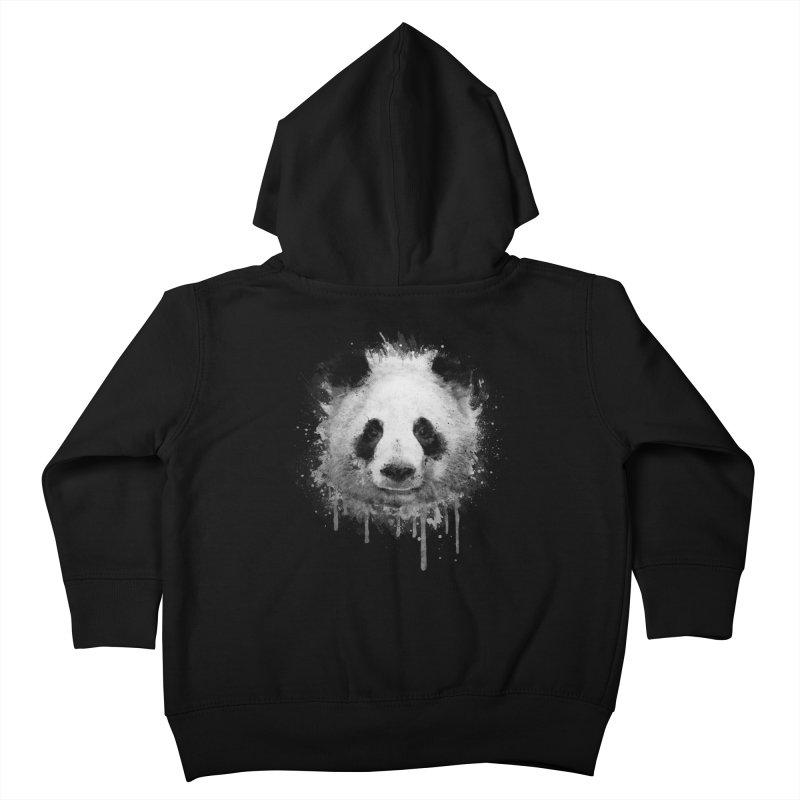 Watercolor Panda Kids Toddler Zip-Up Hoody by Badbugs's Artist Shop