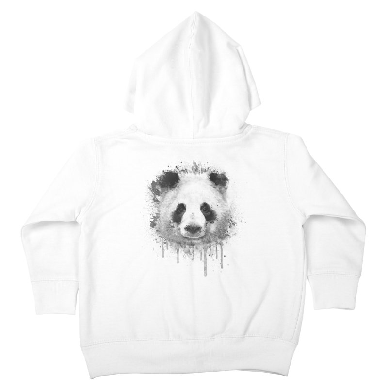 Watercolor Panda Kids Toddler Zip-Up Hoody by Badbugs's Artist Shop