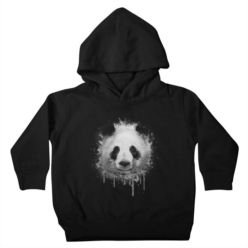 Watercolor Panda Kids Toddler Pullover Hoody by Badbugs's Artist Shop