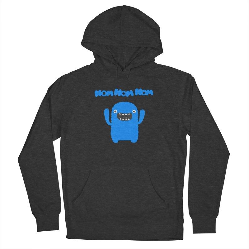 Om nom nom nom Men's Pullover Hoody by Badbugs's Artist Shop