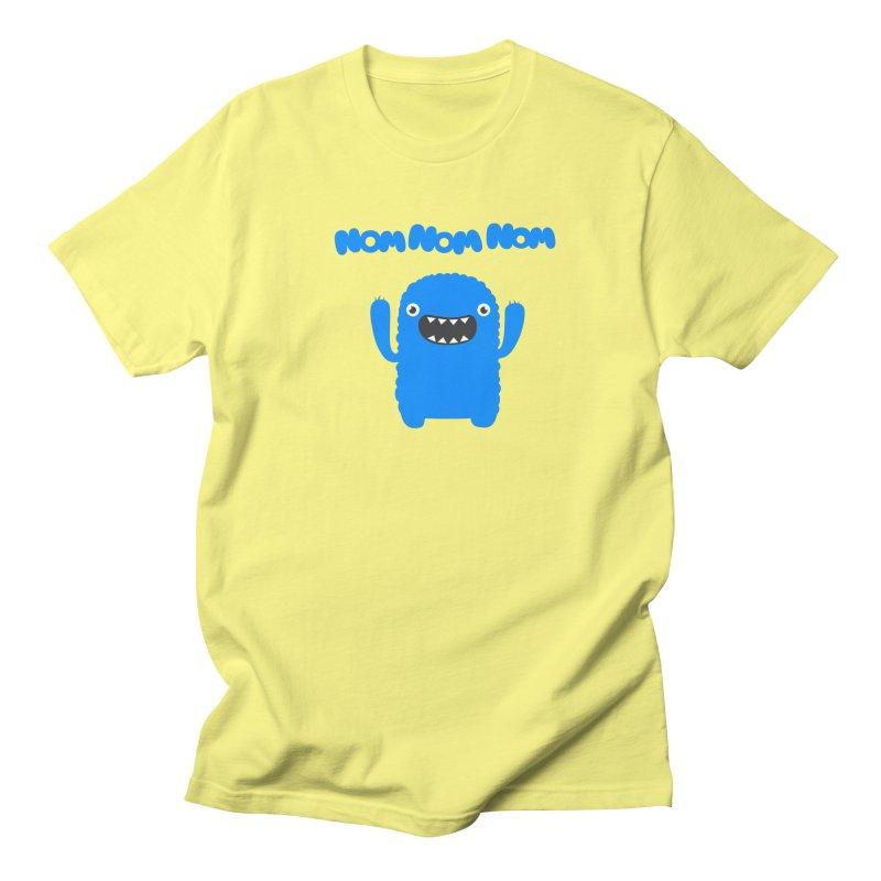 Om nom nom nom Men's T-Shirt by Badbugs's Artist Shop