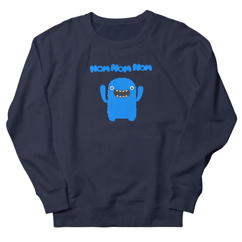 Om nom nom nom Men's Sweatshirt by Badbugs's Artist Shop
