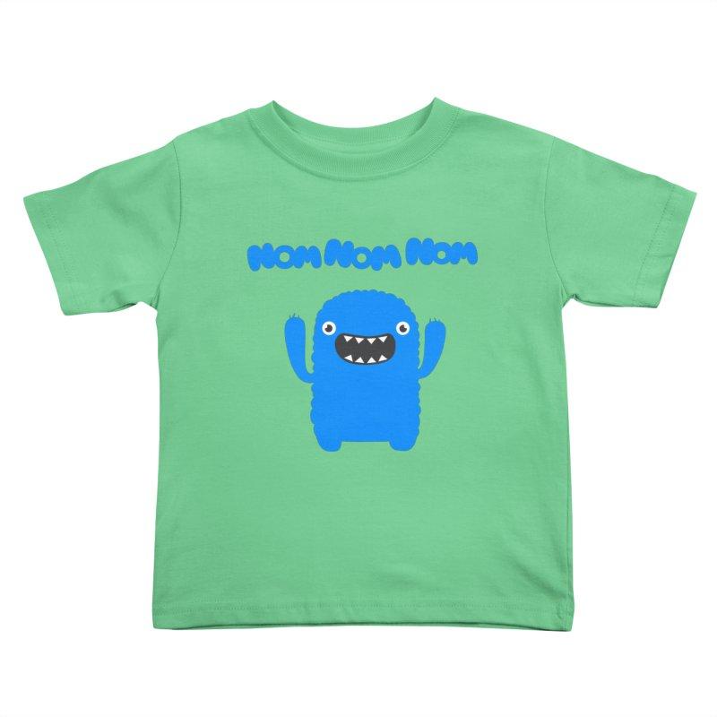 Om nom nom nom Kids  by Badbugs's Artist Shop
